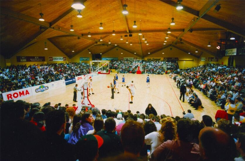 Basketball Arena lighting